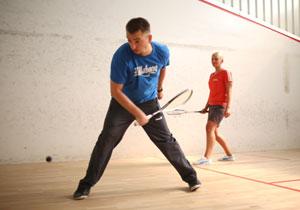Squash / Tischtennis